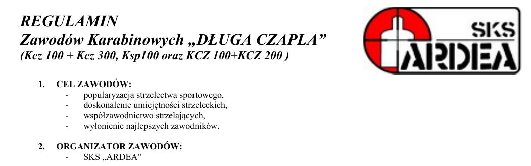 Zawody Długa Czapla – nowy regulamin, nowe konkurencje